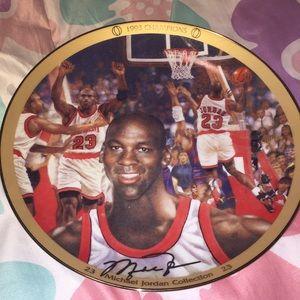 Micheal Jordan Plate